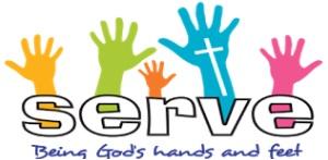 serve hand